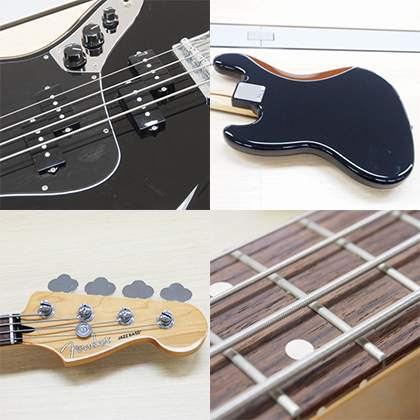 Fender MEX Blacktop JazzBass