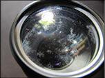 レンズ表面の確認
