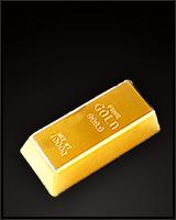 ゴールドインゴットバー
