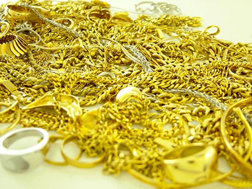 金、プラチナ、銀