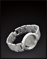 プラチナ腕時計、ベルト・コマ