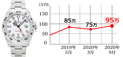 エクスプローラII 216570白