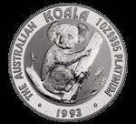 コアラプラチナコイン