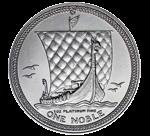 マン島ノーブルプラチナコイン