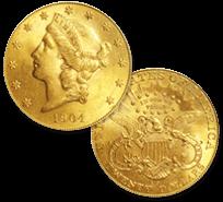 コロネットヘッド金貨 20ドル