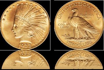 インディアン金貨