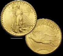 セントゴーデンズ金貨 20ドル