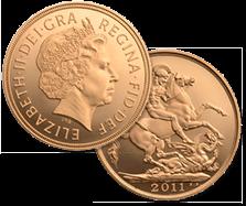 ソブリン金貨 2ポンド