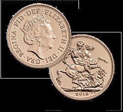 ソブリン金貨 1/2ポンド