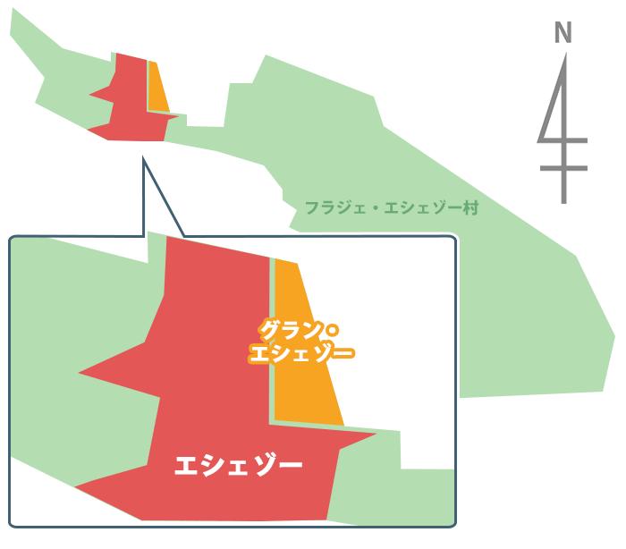 エシェゾーの畑マップ