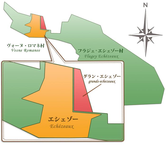 グラン・エシェゾーの畑マップ