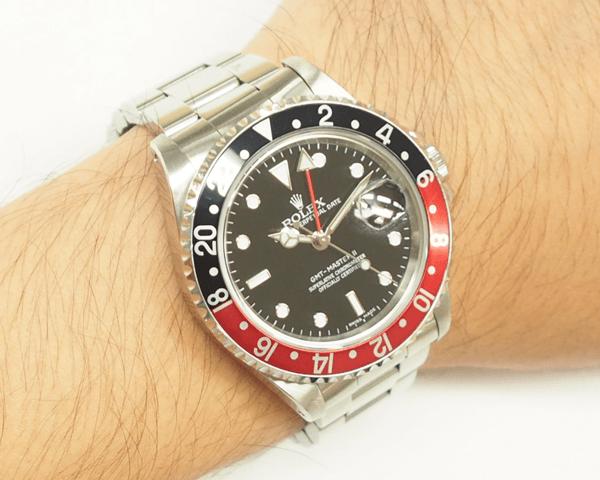 GMTマスター2 16710黒赤