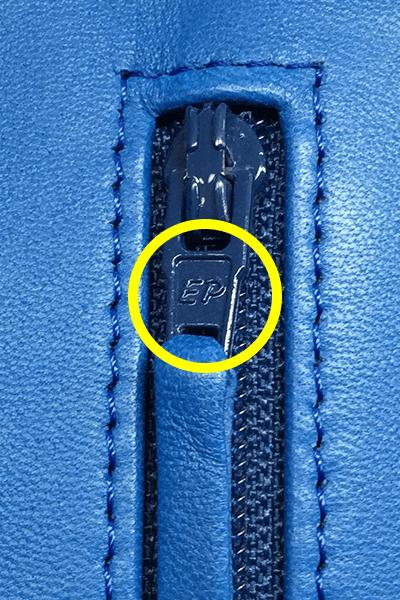 本物(2015年製造のラムスキン)のファイスナープル
