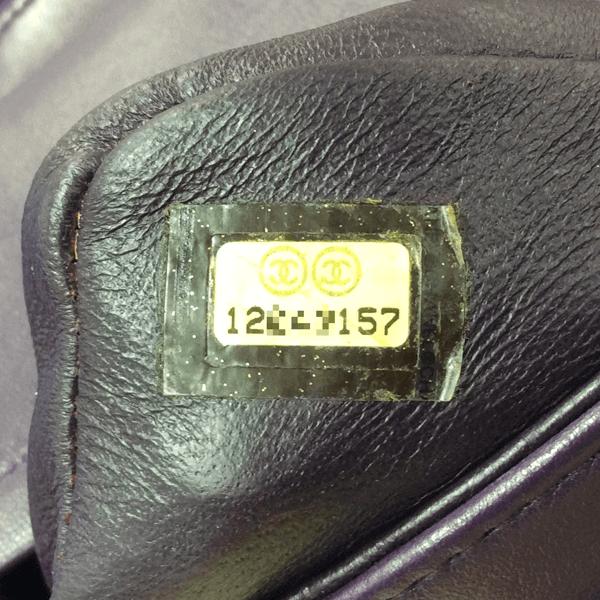 偽物の疑いがあるバッグの中にあるシリアルナンバー